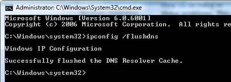 Limpiar la cache en Windows