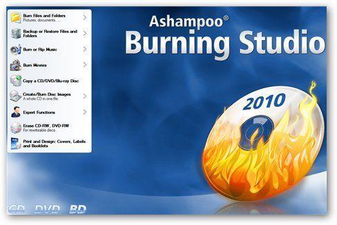 Ashampoo Burning Studio 2010