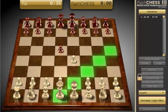 Flash Chess III, ajedrez online en 3D