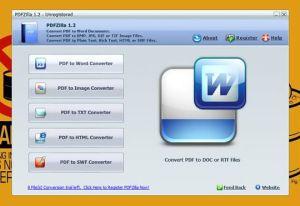 PDFZilla 1.2.9, un super conversor PDF gratuito