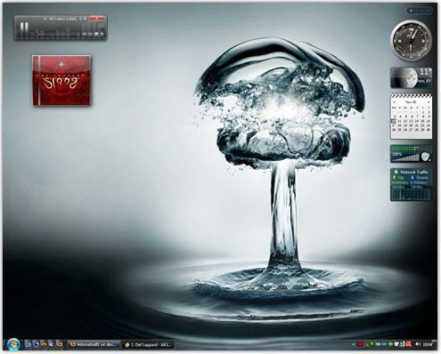 waterbomb-windows7-theme