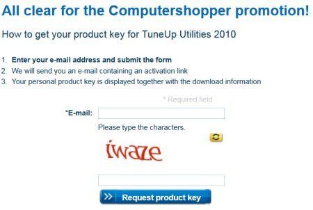 Tuneup Utilities 2010 License Key
