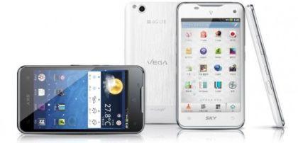 Pantech Vega LTE anunciado para Corea del Sur