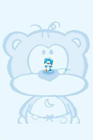 blue bear 7 - 100 fondos de pantalla para Android y iPhone - Planeta Red