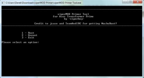 Obtener permisos de root en el ASUS Transformer Prime