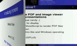Crea espectaculares presentaciones en Linux con Impressive
