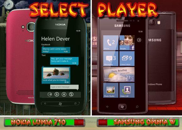 Lumia 710 vs Onmia W