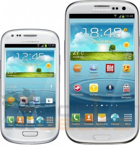 Samsung Galaxy S3 mini vs Samsung Galaxy S3