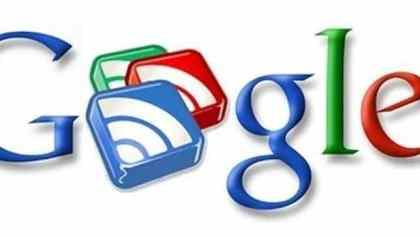 Google Reader feed noticias