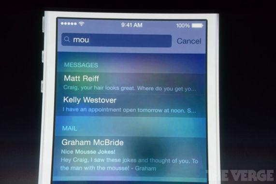 Primeras imágenes reales de iOS 7
