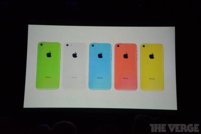 Colores de iPhone 5C
