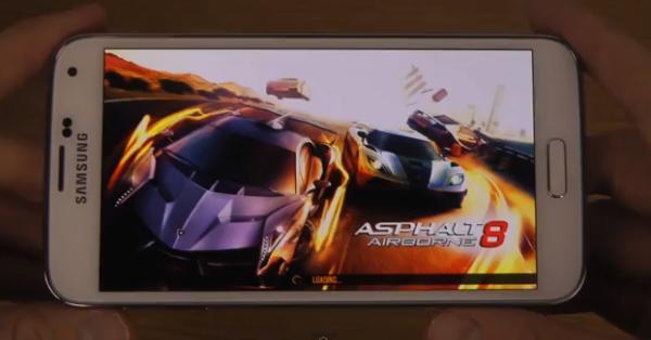 Samsung Galaxy S5 muestra su potencial gráfico en vídeo