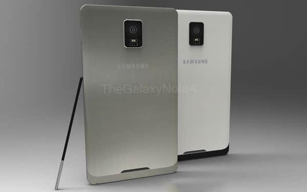 Galaxy Note 4 - Concepto