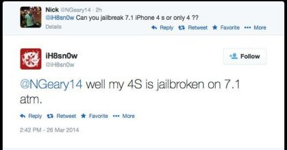 jailbreak para iOS 7.1.1