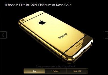 iPhone 6 en dorado, ya disponible para su reserva