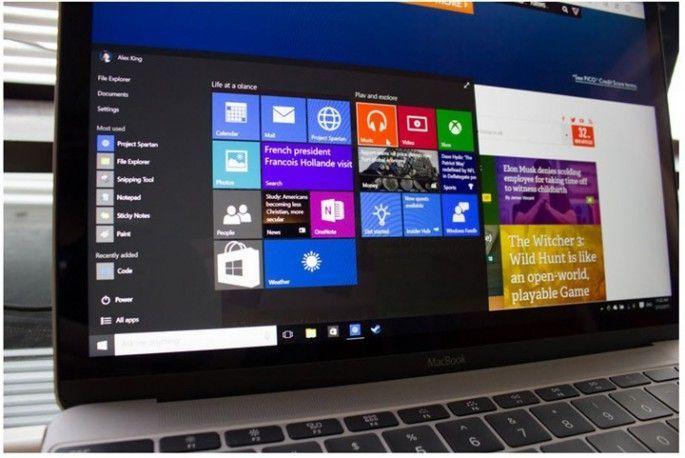 Windows 10 es más rápido que OS X en un Macbook