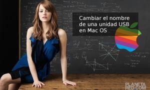 Cambiar el nombre del USB en Mac OS