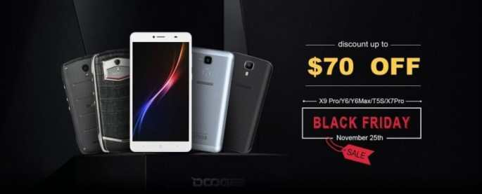 Black Friday en DOOGEE