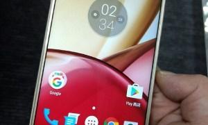 Imágen real del Motorola Moto M