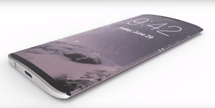 El iPhone ocho con OLED, a medias