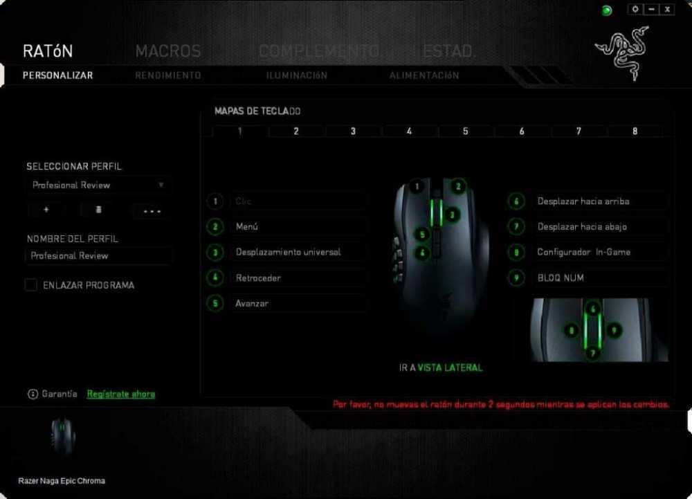 Razer Naga Epic Chroma, análisis y review