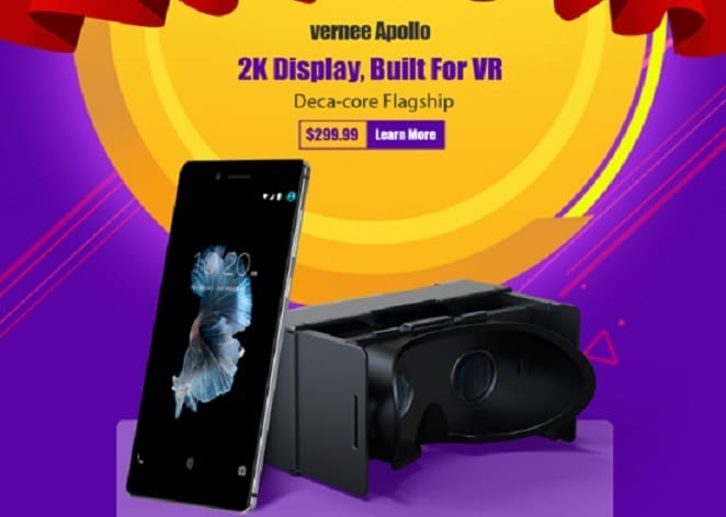 Vernee Apollo al mejor precio, 2K y toda la VR a tu disposición
