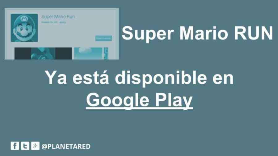 SuperMario Run Android, faltan pocos días para disfrutarlo