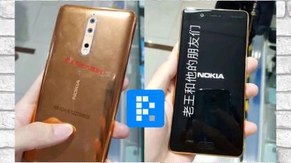 fotos reales del Nokia 8