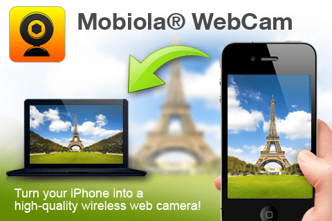 Como utilizar el iPhone como webcam