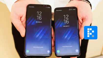 Samsung Galaxy S8 hand on