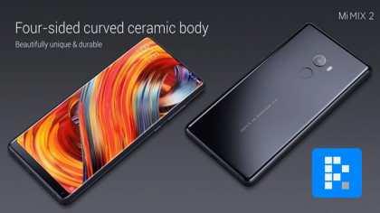 black Xiaomi Mi Mix 2