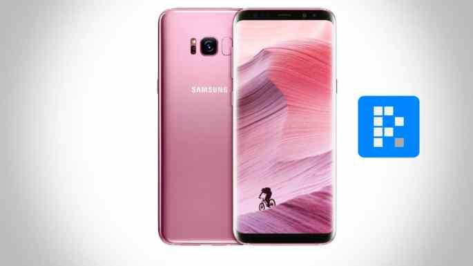 Samsung Galaxy S8 colorrosa