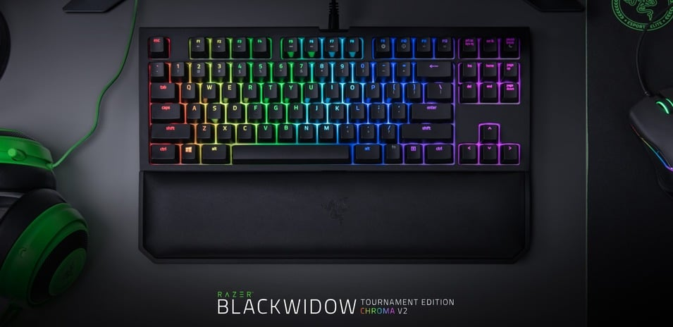 [Análisis - Review] Razer Blackwidow Tournament Edition Chroma V2 - Planeta Red