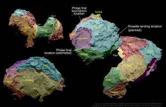 20160726_Comet_regional_maps_landing_sites