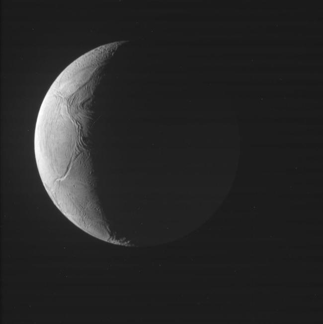 Cassini also just completed another flyby of Enceladus on Nov. 27, 2016. Although not as close as previous flybys, the raw images still show a lot of detail on the surface. Photo Credit: NASA/JPL-Caltech