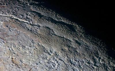 'Penitentes on steroids': Scientists solve enigma of Pluto's massive ice blades