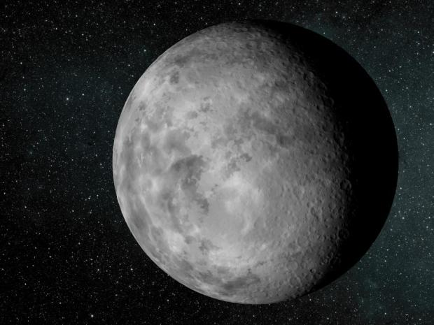 Artist's conception of Kepler-37b, which is smaller than Mercury and only slightly larger than our Moon. Credit: NASA / Ames / JPL-Caltech