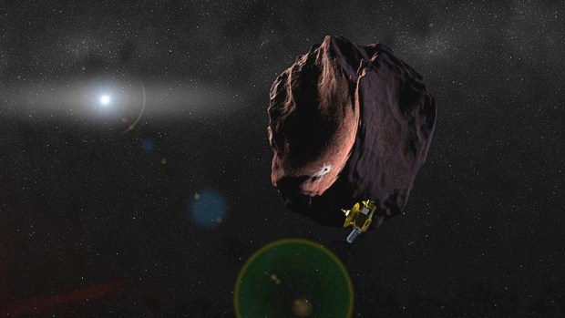 New Horizons has completed the four course corrections needed to send it on its way to its next target in the Kuiper Belt, 2014 MU69. Image Credit: NASA/JHUAPL/SwRI