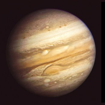 Jupiter's Great Red Spot, while massive, is much calmer than Saturn's storms. Photo Credit: NASA/JPL-Caltech