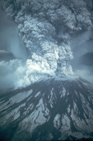 Curiosity has found the mineral tridymite on Mars, which on Earth is produced by silicic volcanoes, such as Mount St. Helens in Washington. Photo Credit: USGS/Austin Post via AP