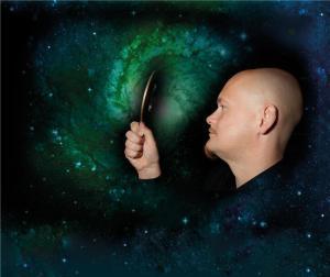 În căutarea materiei negre. Profesorul Are Raklev o lansat un model matematic care explică din ce constă materia neagră. (Credit: Yngve Vogt)