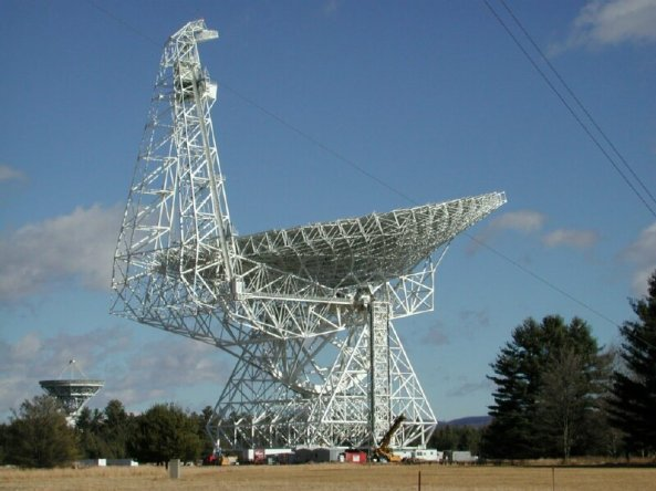 Green Bank Telescope. Credit: NRAO