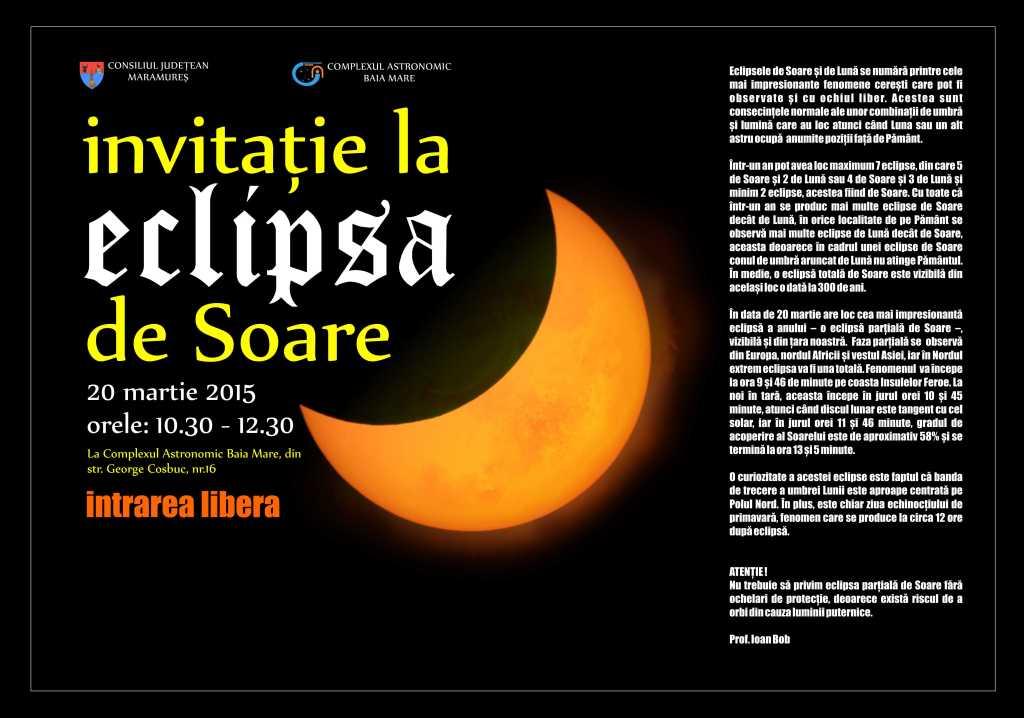 invitatie eclipsa