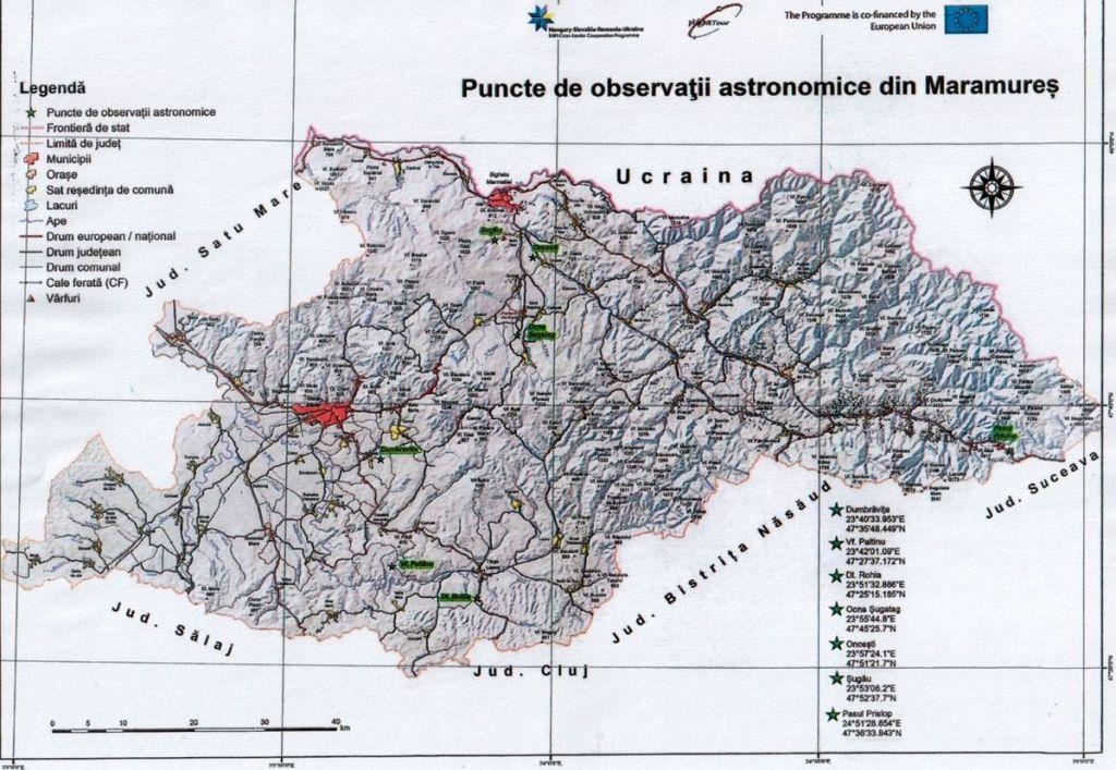 HARTA PUNCTE PLANETOUR