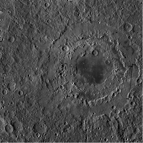 Orientale Basin. © NASA