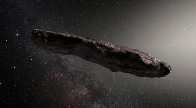 The rotation of 'Oumuamua