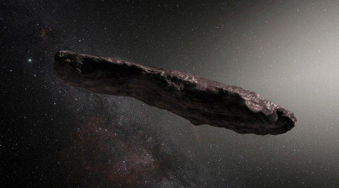 The rotation of 'Oumuamua