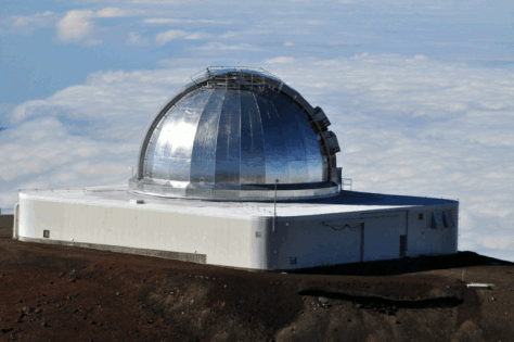 NASA's InfraRed Telescope Facility at Maune Kea, Hawaii. © Afshin Darian