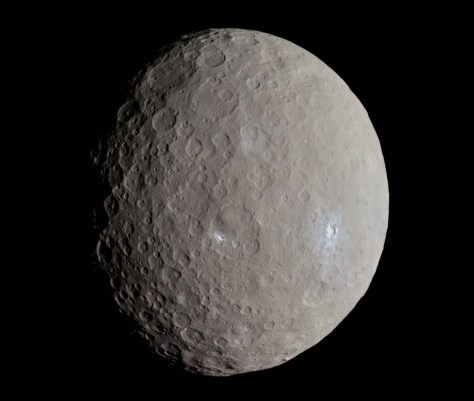 Ceres seen by Dawn. © NASA