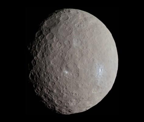 Ceres seen by Dawn. © NASA